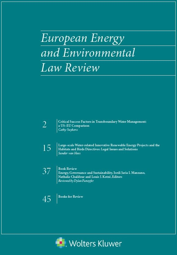 European Energy and Environmental Law Review Online