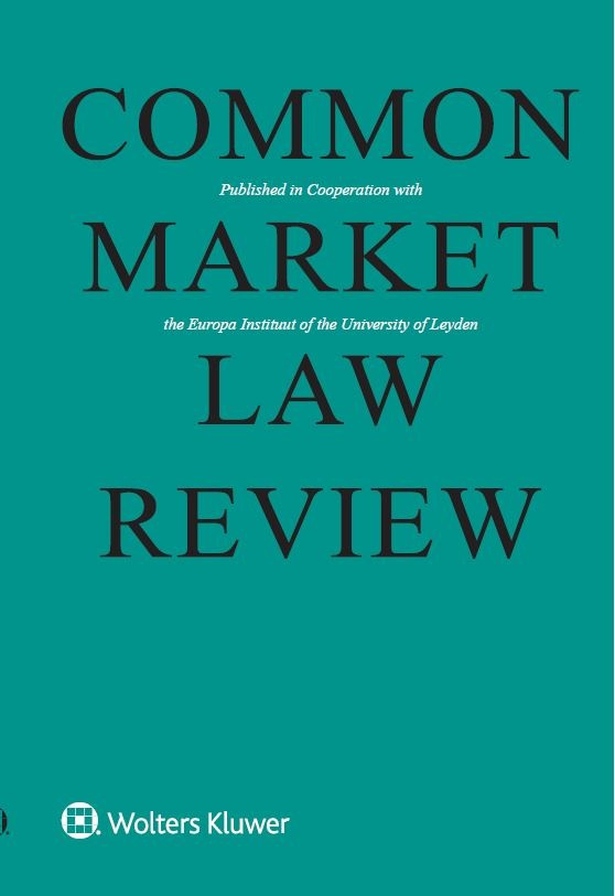 Common Market Law Review Combo