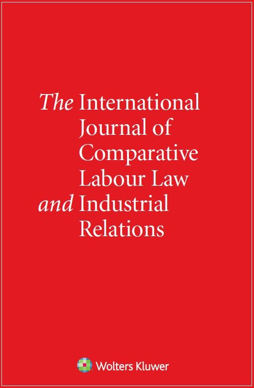 International Journal of Comparative Labour Law and Industrial COMBO