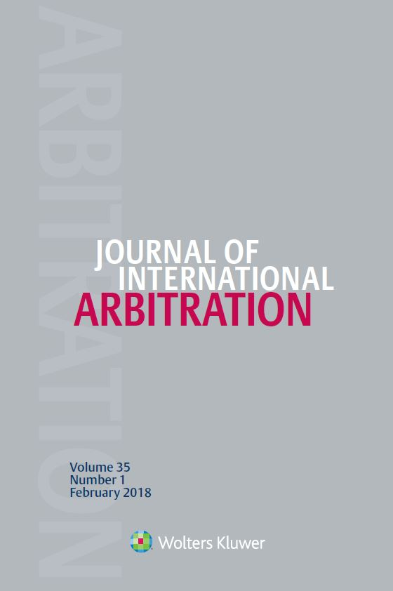Journal of International Arbitration Combo