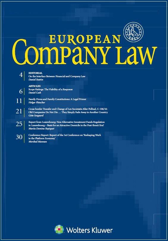 European Company Law Online