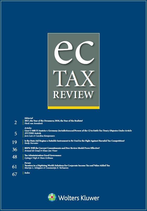 EC Tax Review Online