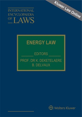 International Encyclopaedia of Laws Energy Law Online 9888001946