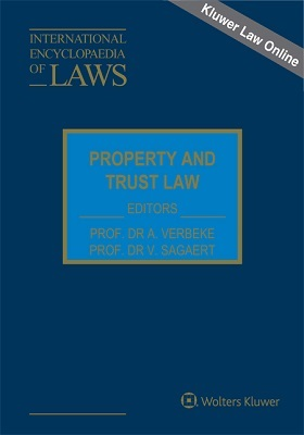 International Encyclopedia Law: Property and Trust Law Online