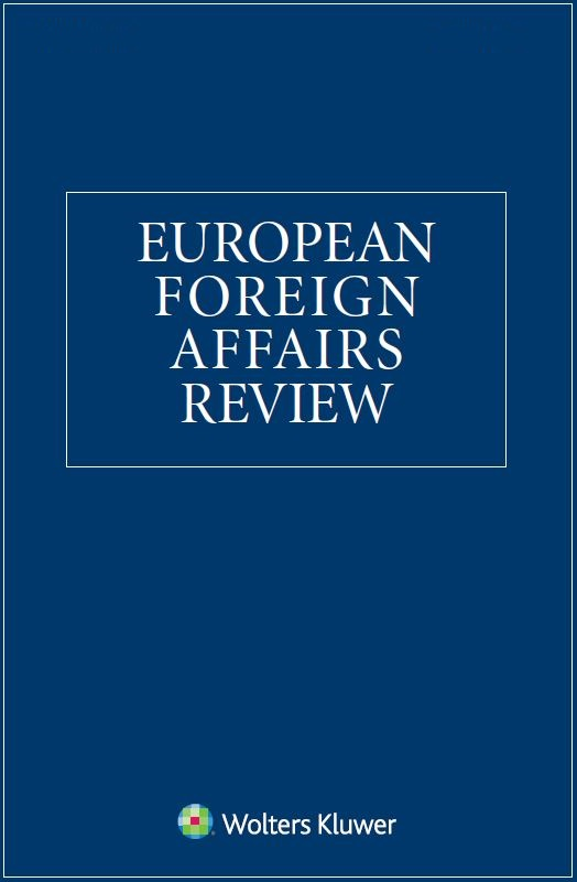 European Foreign Affairs Review